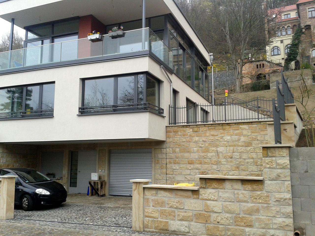 Holzhaus Dresden holzhaus mit glasfassade dresden zimmerei portack grille